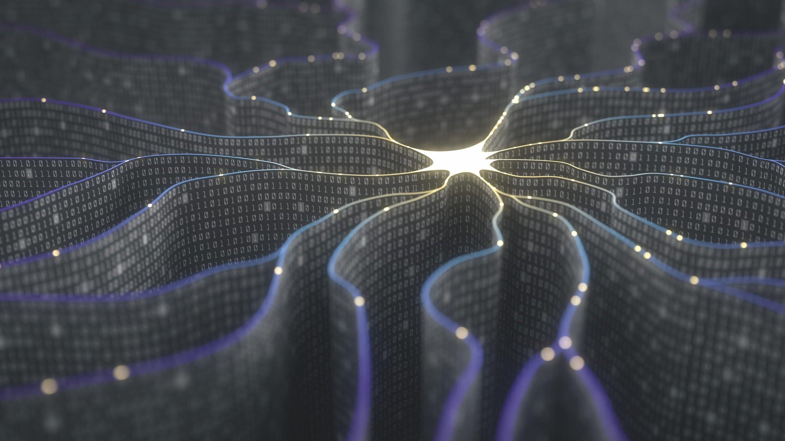 Kuenstliche Neuronen im KI Netz